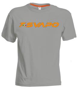 t-shirt steel-arancio